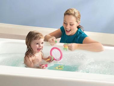Игры с детьми в ванной
